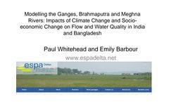 Water-Resource - Version INCA - Integrated Catchement Software  - Brochure