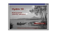 Hydro - Version 10 - MS Visual Basic  Software