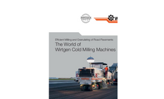 Cold Milling Machine- Brochure