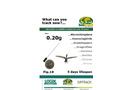 Bird & Bat Beeper Transmitters- Brochure
