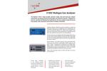 Rapidox - Model 3100Z - Multi-Gas Analyser System - Brochure