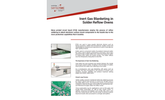 Inert Gas Blanketing in Solder Reflow Ovens - Application Note