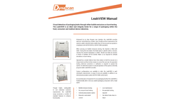 LeakVIEW Manual Bubble Emission Tester - Technical Specification
