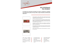 Rapidox SF6 6100 Bench Gas Analyser - Technical Specification