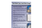 UIG - Epoxy Coated Bolted Storage Tanks - Brochure