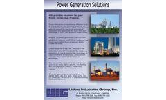 UIG Storage Tank Power Generation Solutions - Brochure