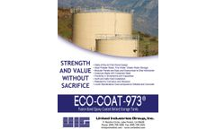 ECO Coat-973 Epoxy Coated Bolted Storage Tanks - Specifications