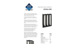EFiCELL - G4 - Pre-Filters Brochure