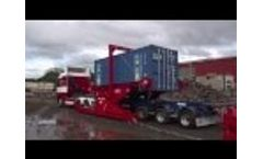 A-Ward Container Tilter - Bulk Material Loading Machine Video