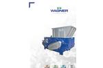 Wagner WS30 Universal Single Shaft Shredder