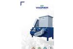 Wagner WS 11-15 Universal Single Shaft Shredder