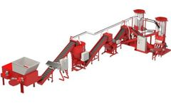 Copper Recovery - Model Phoenix XD PLUS - Wire Chopping Plant Upgrade with Cable Shredder, Cutting Mills and Variable Speed Dosing Silo