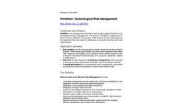 RiskWare - Technological & Environmental Risk Analysis Software Brochure