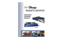 Overhead Permanent Magnets - Self-Cleaning and Stationary