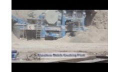 Bluestone Mobile Crushing Production Line Video