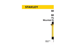 Stanley - Model MRX - Multi-Jaw Demolition Tool  Safety and Operation Manual