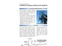 Global Advantech - Model TDS805 - Cavitation Scrubbing System - Datasheet