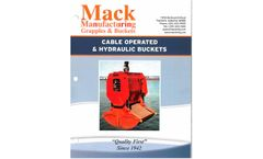 Mack - Diesel-Powered Self-Contained Hydraulically Operated Buckets - Brochure