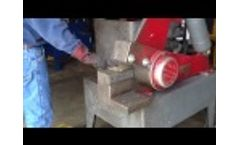 R.E.S. Corp Used Constellation Model 1 1/2 - 8 Inch Shear - Video