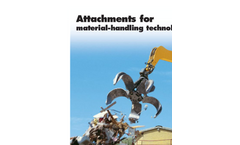 Attachments for Hydraulic Excavators