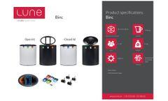 Lune - Model Binc - Waste Bin - Brochure