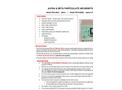 Model FM-9MA-2 - Alpha & Beta Particulate Air Monitor - Brochure