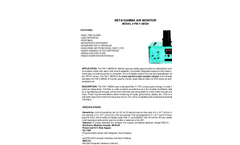 TA - Model FM-7-ABGN - Beta/Gamma Air Monitor - Brochure