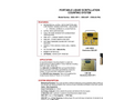 TA - Model SSS-12P-1/SSS-22P & SSS-22-PAL - Portable Liquid Scintillation Counting System - Brochure