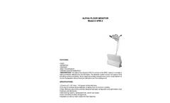 TA - Model AFM-2 - Alpha Floor Monitor - Brochure