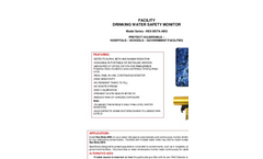 TA - Model NEX-BETA-ABG - Drinking Water Safety Monitor - Brochure