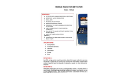 TA - Model MoRad - Mobile Radiation Detector - Brochure
