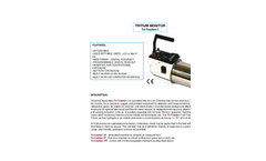 TA - Model Tri-Tracker-1 - Tritium Monitor Brochure