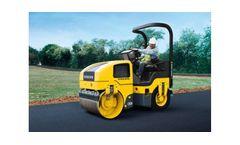 Volvo Construction Equipment - Model CR24 Series - Small Asphalt Compactors
