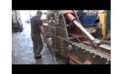 McIntyre 5025SB Baler Demonstration - Copper Scrap Baling - Video