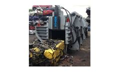 Roter - Model RR Series - Car Recycling & Scrap Metal Balers