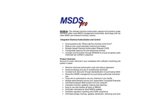 MSDSpro WORKflo Brochure