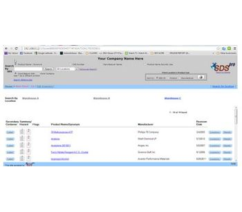 SDSpro PlusWeb - Robust SDS Management Solution Software