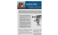 GunLink - Model 2500 - Seamap On-Board Gun Controller Brochure