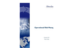 Research Report: Operational Risk Management Benchmarks (Aberdeen Group)