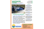 SEMS - Wastewater Data Management Software - Brochure