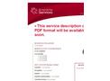 Classification Code Services- Brochure