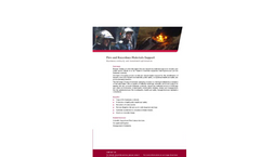 Fire and Hazardous Materials Support Services- Brochure
