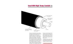 Insul - Model 800 - High Temp Conduit Brochure