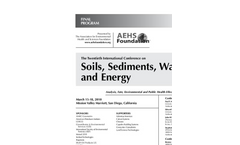 21st Annual International Conference on Soils, Sediments, Water, and Energy - Final Program Brochure