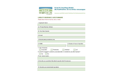 Workers Compensation Questionnaire- Brochure