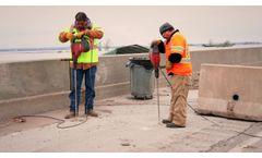 URETEK I-29 Iowa Interstate Bridge Repair - Video