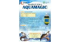 Maple Aquamagic - Model EM.1 - Liquid Probiotic- Brochure