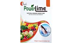 Powerlime - Based Lime Natural Mineral  - Brochure