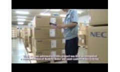 NEC Uses IFS Applications (Subtitles) Video