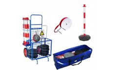 Romind - Model P2283 - Work Area Fencing System